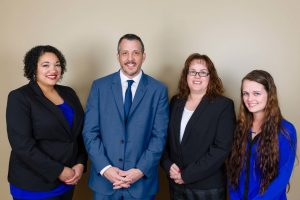 The family law staff at Willie & Dasher Law in Austin, Texas
